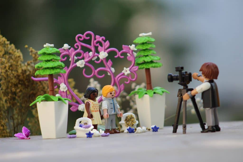Abonnement T-Bric lego bruiloft en fotograaf