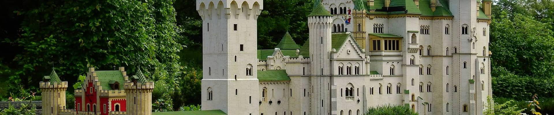 abonnement T-Bric kasteel in de buitenlucht